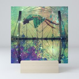Bridging Time Mini Art Print