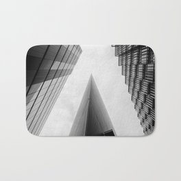 Modern Buildings London Finance Abstract Bath Mat