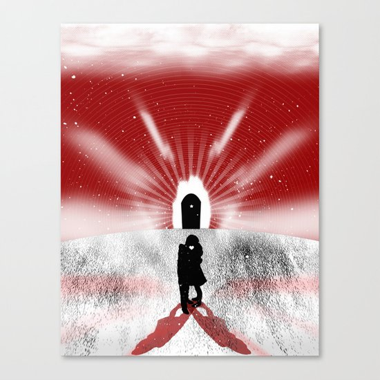 Is Love Forever? Canvas Print
