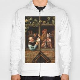 """Jan Steen """"Rhetoricians at a Window"""" Hoody"""