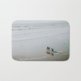 lets surf vii / new zealand Bath Mat