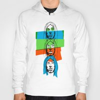 iggy Hoodies featuring Iggy by Mohac