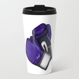 For the love of Boxing // PURPLE & GRAY Travel Mug