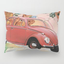 Pink Mystic Pillow Sham