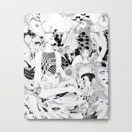 The Works Metal Print