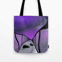 go violet -11- Tote Bag