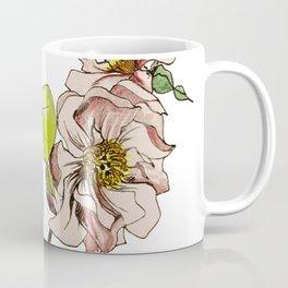 Camellia Inspired Flower Branch Coffee Mug