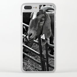 I See Something Clear iPhone Case