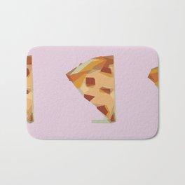 Cubist Pizza Slices Bath Mat