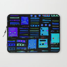 Color square black 02 Laptop Sleeve
