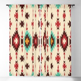 American Native Pattern No. 110 Blackout Curtain