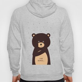 bored bear Hoody