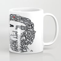 che Mugs featuring Che by Rucifer