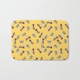Busy Queen Bees Bath Mat