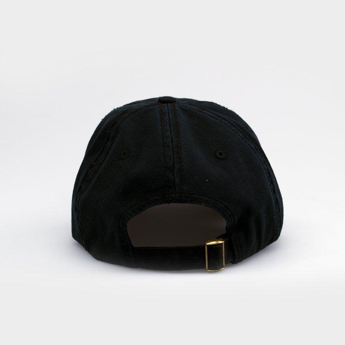 Dad Hat: Black Never Die   By John Malta Editions