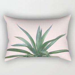 Cactus Photography Pink Rectangular Pillow
