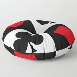 Playing card Floor Pillow