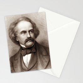 Nathaniel Hawthorne - American Novelist Stationery Cards