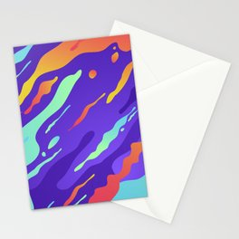 Abstract camouflage for modern home decoration Stationery Cards