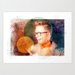 Bobby Bones Painting Art Print