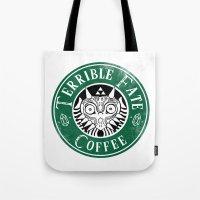 majora Tote Bags featuring Cafe Majora by ShinoX