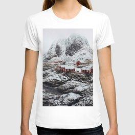 Mountain Village In Norway T-shirt