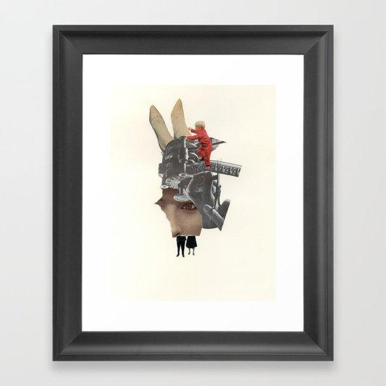 Five Fragments Framed Art Print