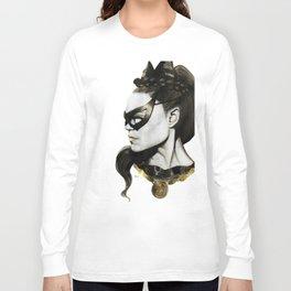 Eartha Kitt IS Catwoman Long Sleeve T-shirt