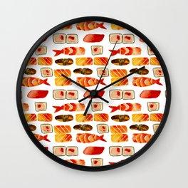 Sushi vibes Wall Clock