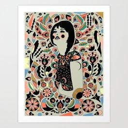 Naive Art Print