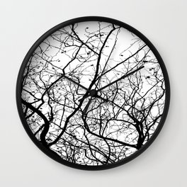 Branches Wall Clock