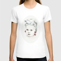 cherry T-shirts featuring Cherry by VicFreyd