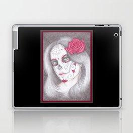 Dia De Los Muertos - Rose Laptop & iPad Skin