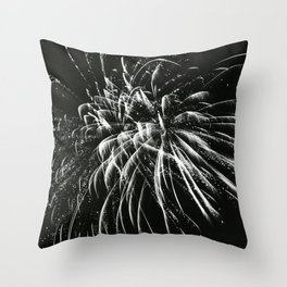 Fireworks in Summer Throw Pillow