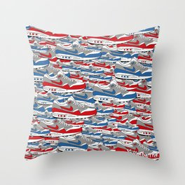 Air Max All Over Throw Pillow