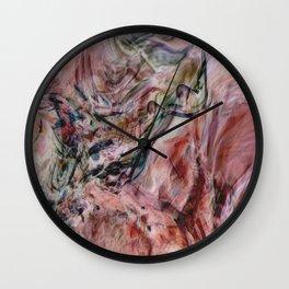 Desert Veils Wall Clock