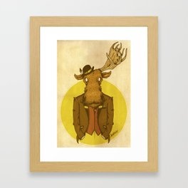 {Bosque Animal} Alce Framed Art Print