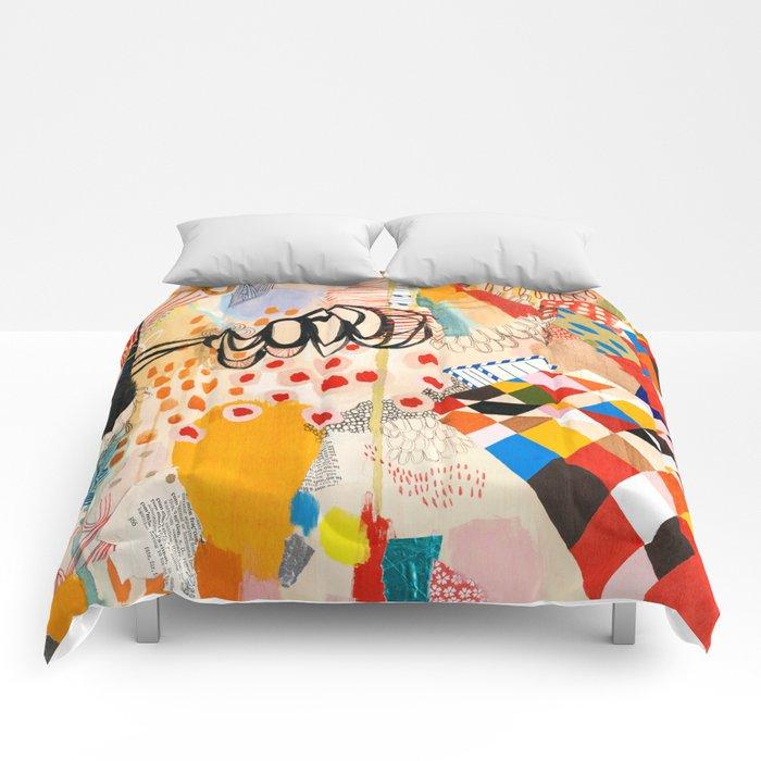 Wallpaper and Diamonds Part II Comforters
