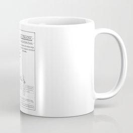 La Pavoni Patent Drawing Poster (Very Old & Rare) Coffee Mug