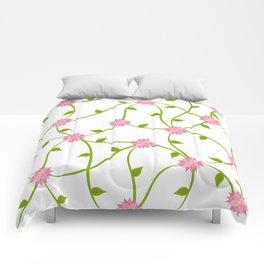 Flowers on a Vine Comforters