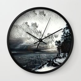 Isolation Wall Clock