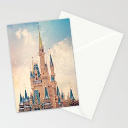 Cinderella's Castle Stationery Cards