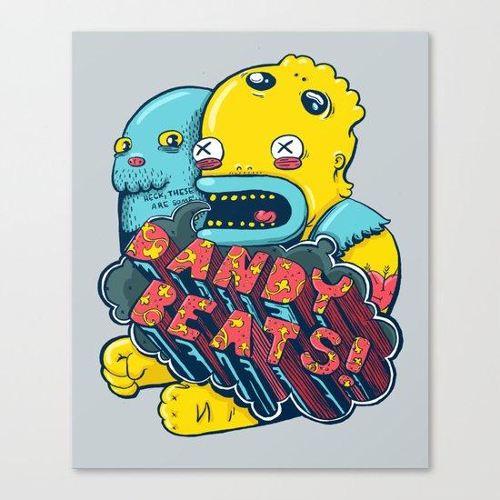 Dandy Beats Canvas Print