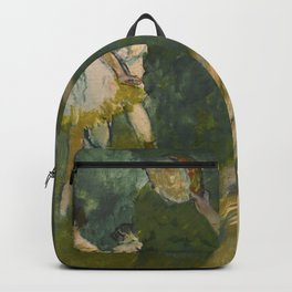 "Edgar Degas ""Dancers with tambourine"" Backpack"