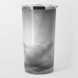 Black & white Rila Travel Mug