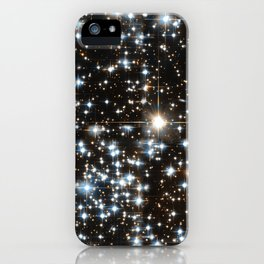 Sparkle Star Field in the Universe iPhone Case