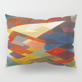 Otto Freundlich Composition, 1930 Colorful Geometric Painting Pillow Sham