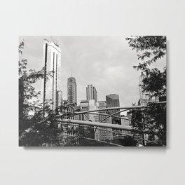 The Chicago Skyline Metal Print