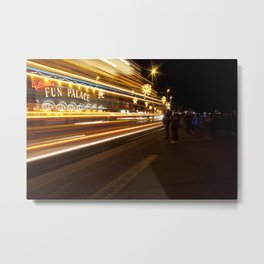 Fun Palace - Blackpool illuminations Metal Print