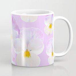 Pansies Dream #2 #floral #pattern #decor #art #society6 Coffee Mug